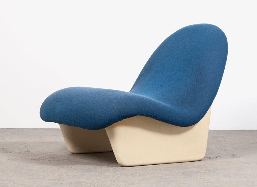 Deutscher Sadima Sessel von Luigi Colani für Basf, 1970er