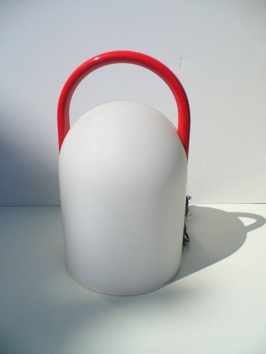 Vintage Tender Tischlampe von Romolo Lanciani für Tronconi, 1980er