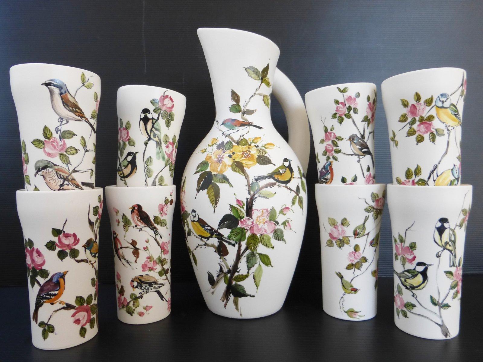 Set di ceramiche vintage anni in vendita su pamono