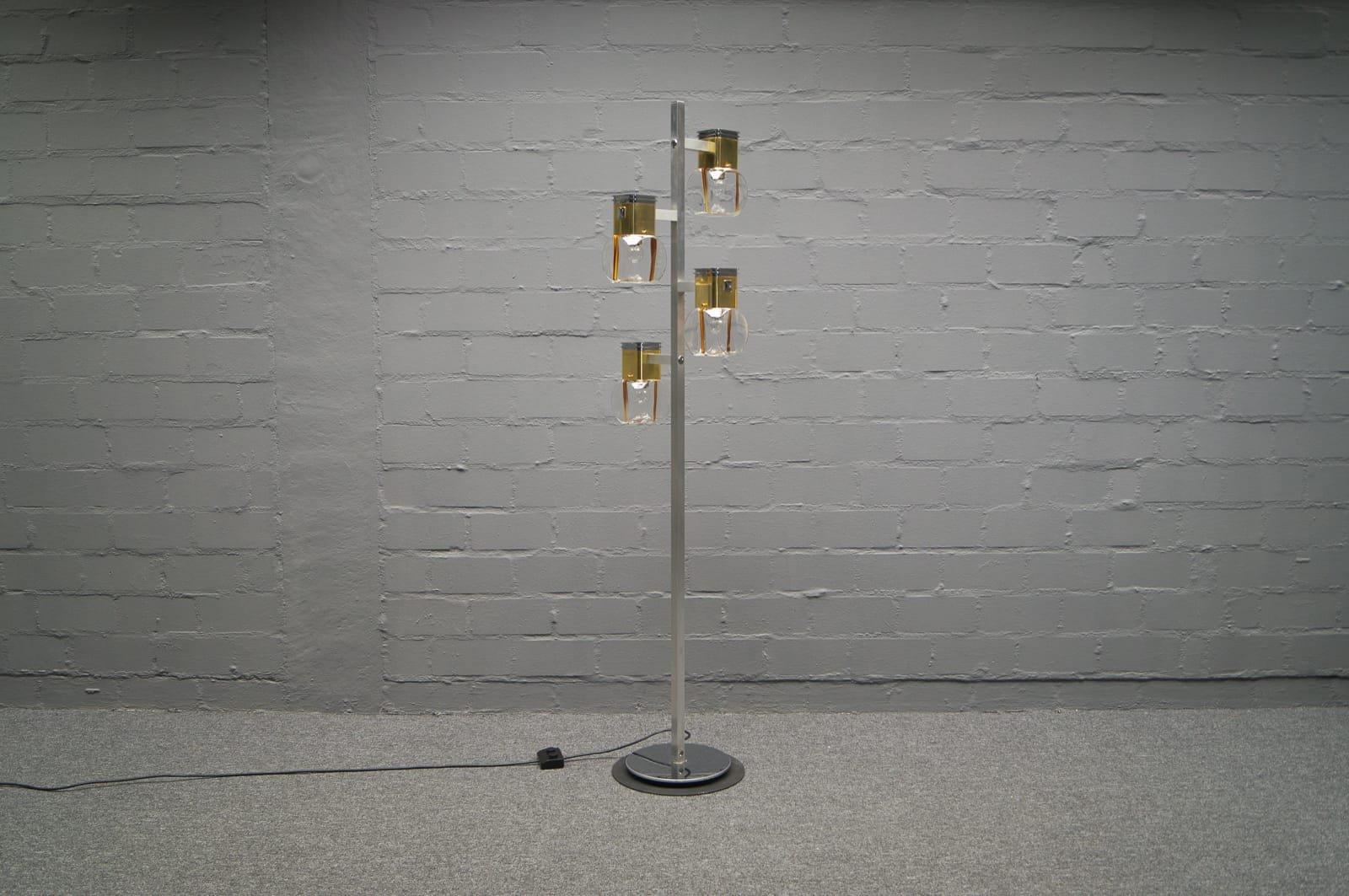 Stehlampe von Reggiani Lampadari, 1970er