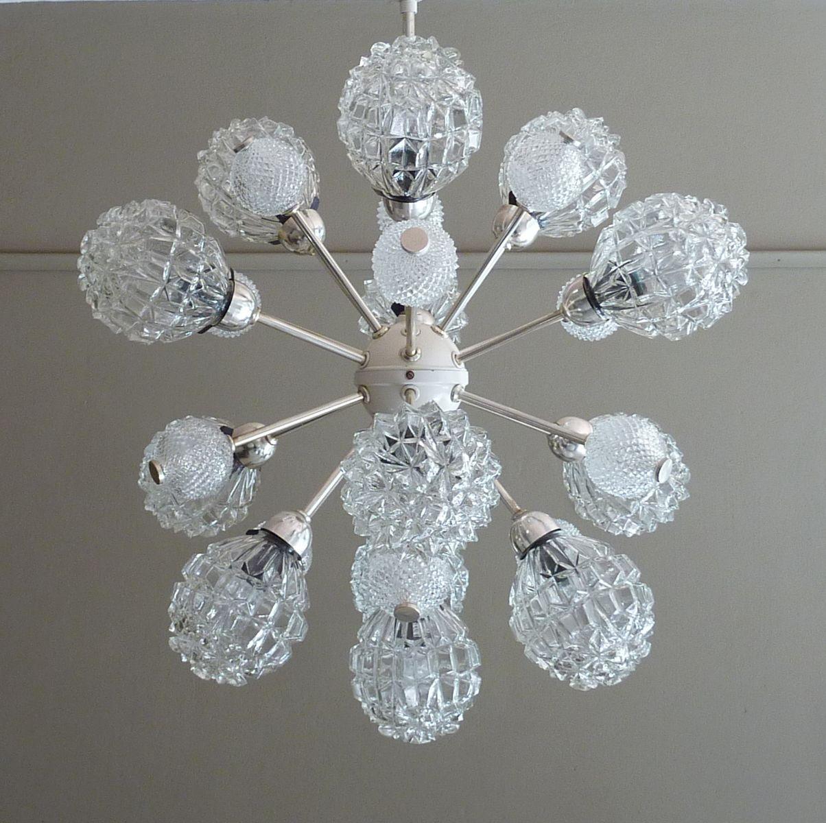 sputnik kronleuchter von richard essig 1970er bei pamono kaufen. Black Bedroom Furniture Sets. Home Design Ideas