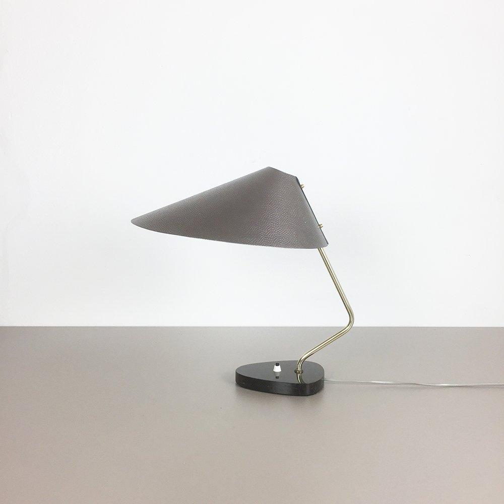 Tischlampe mit Granit Fuß, 1960er