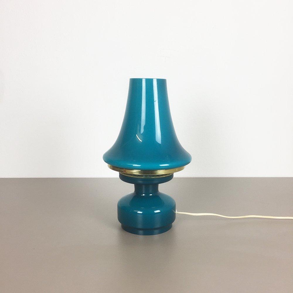 Schwedische Schreibtischlampe aus Glas von Hans-Agne Jakobsson