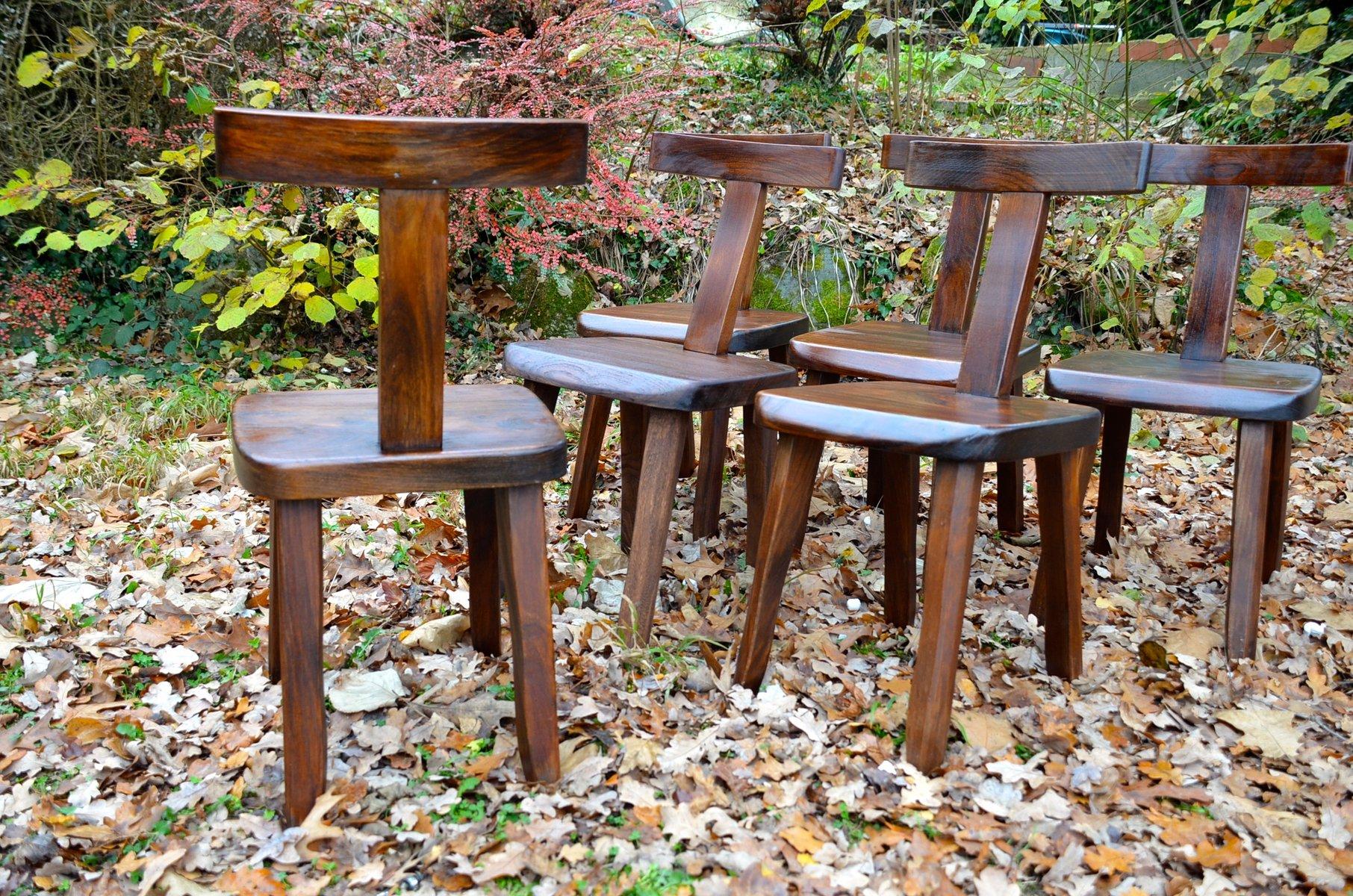 finnische st hle von olavi h nninen f r mikko nupponen 1950er 6er set bei pamono kaufen. Black Bedroom Furniture Sets. Home Design Ideas