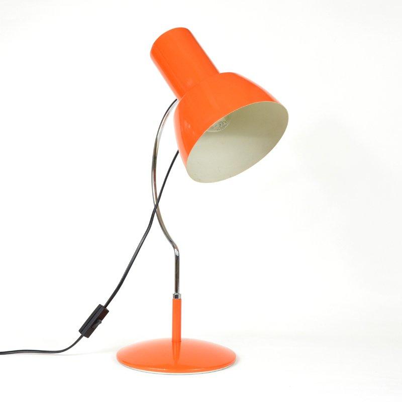 Orange Vintage Lampe von Napako