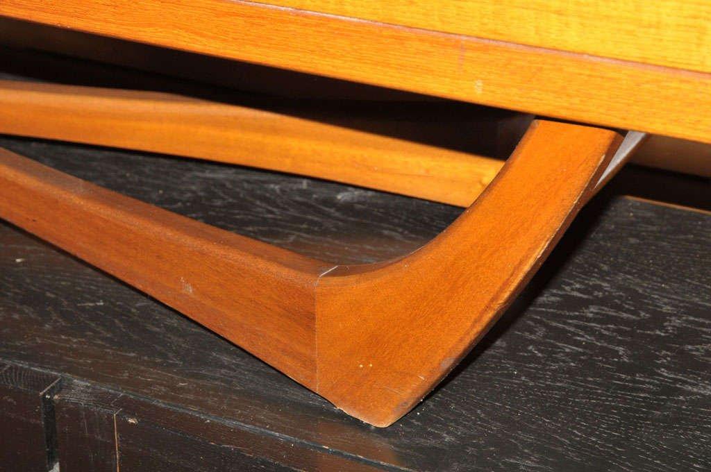 schottisches mid century sideboard mit kreuzgestell von. Black Bedroom Furniture Sets. Home Design Ideas