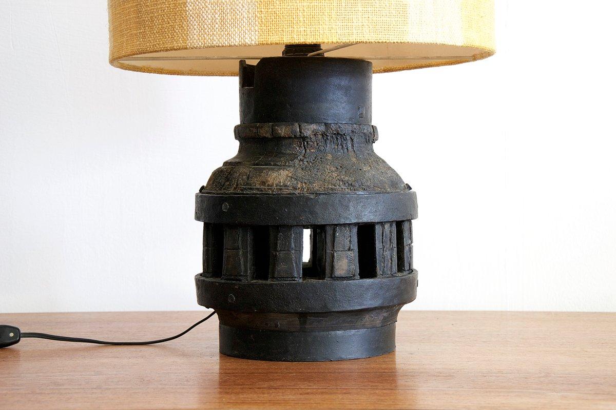 Bureau bois fer vintage unique de lampe de bureau vintage schème