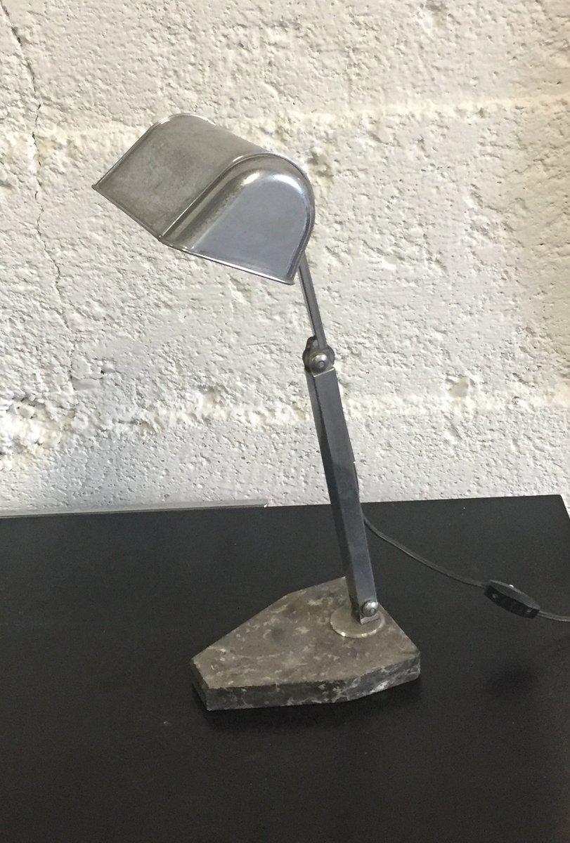 Französische Verstellbare Vintage Tischlampe