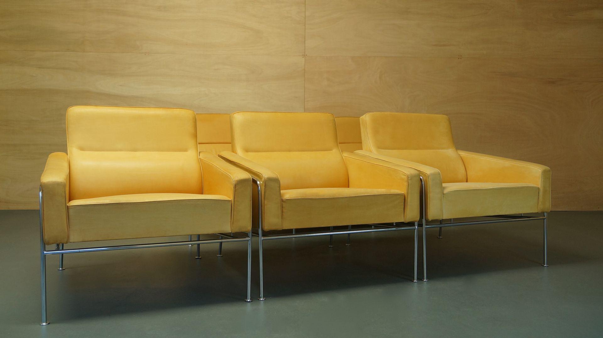 vintage serie 3300 sessel von arne jacobsen f r fritz hansen bei pamono kaufen. Black Bedroom Furniture Sets. Home Design Ideas