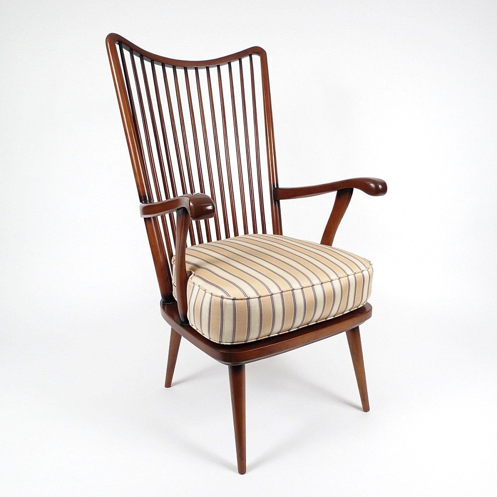 Skandinavischer Vintage Palisander Sessel