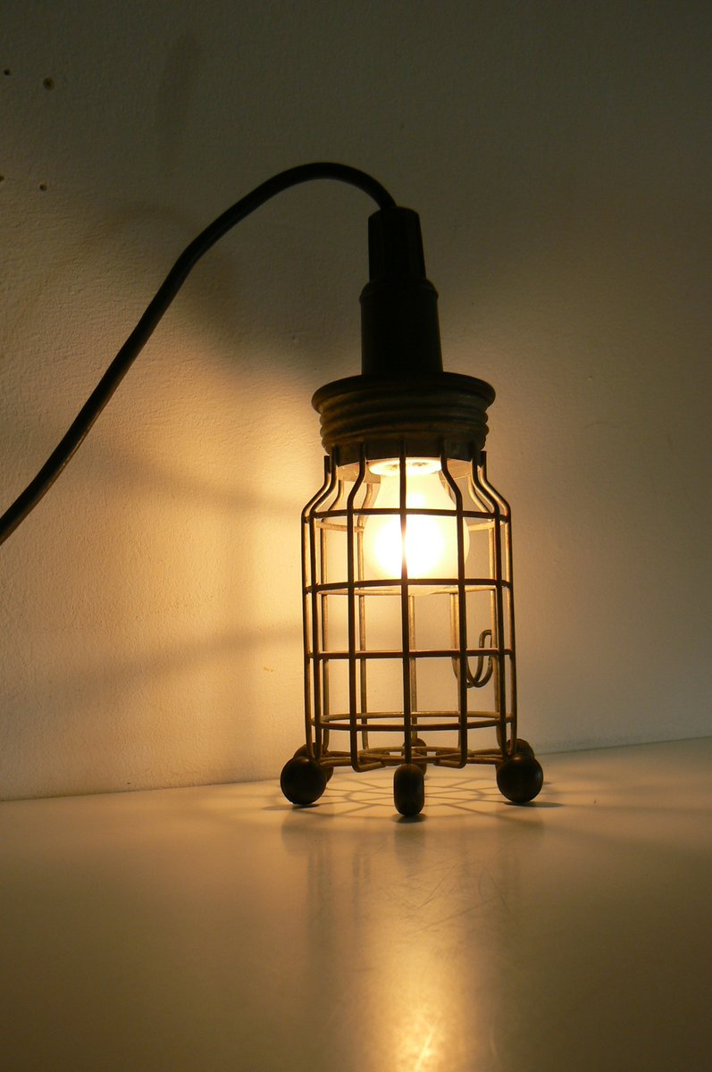 Industrielle Lampe von Ernst Rademacher