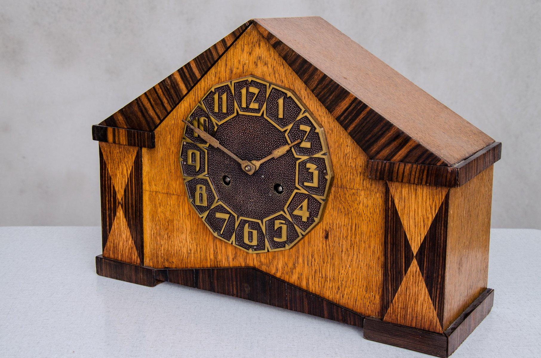 Fuori centro orologio da tavolo off center desk clock olandese