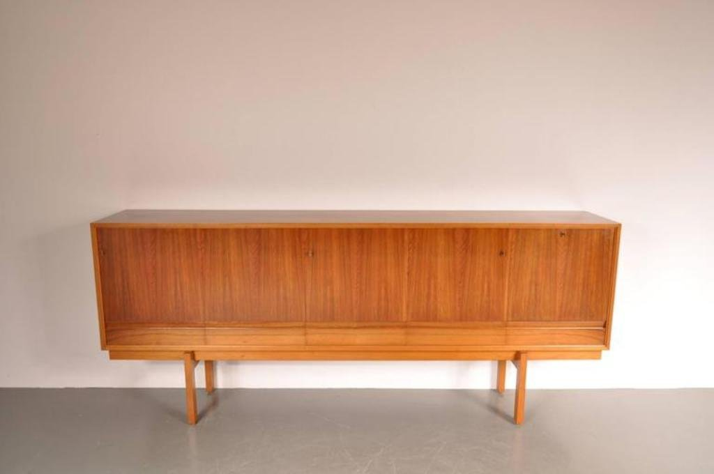 belgisches gro es sideboard von jos de mey f r van den berghe pouvers 1960er bei pamono kaufen. Black Bedroom Furniture Sets. Home Design Ideas