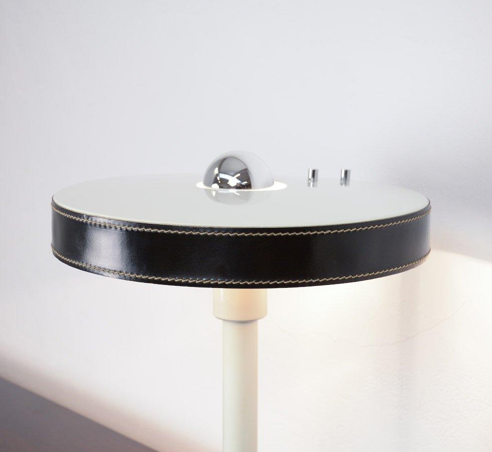 Minimalist Black Amp White Desk Lamp By L Kalff For Philips