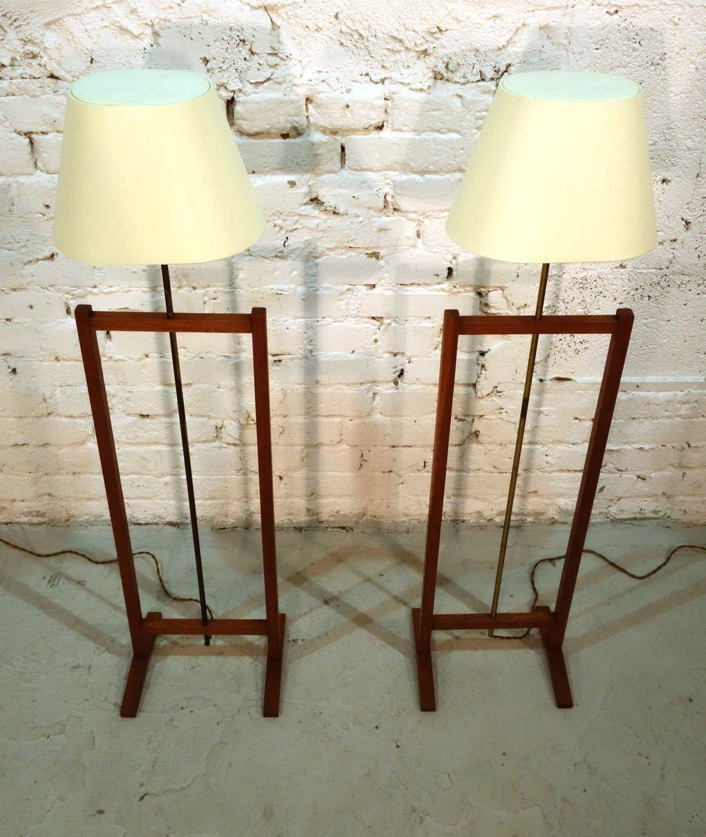 stehlampen von josef frank f r svenskt tenn 1960 2er set bei pamono kaufen. Black Bedroom Furniture Sets. Home Design Ideas