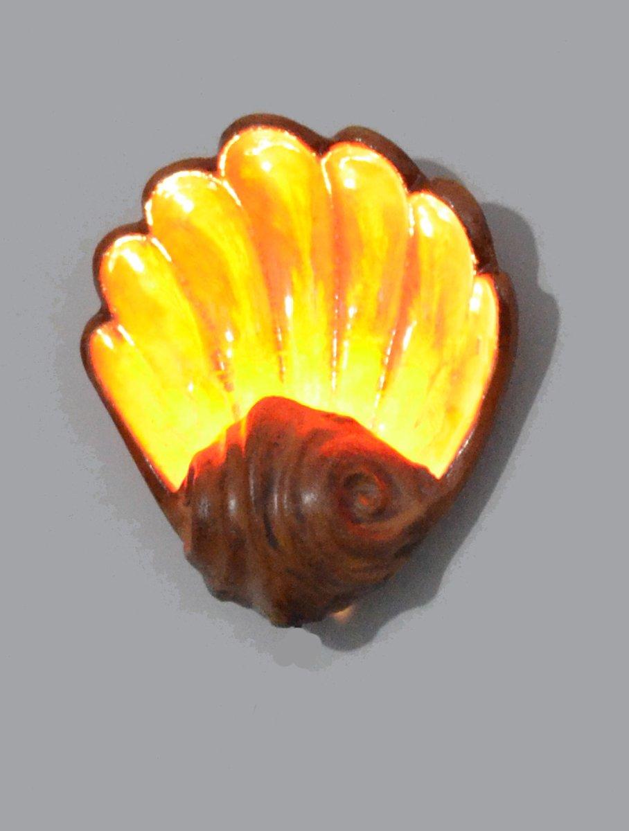 Mid-Century Fat Lava Wandlampe