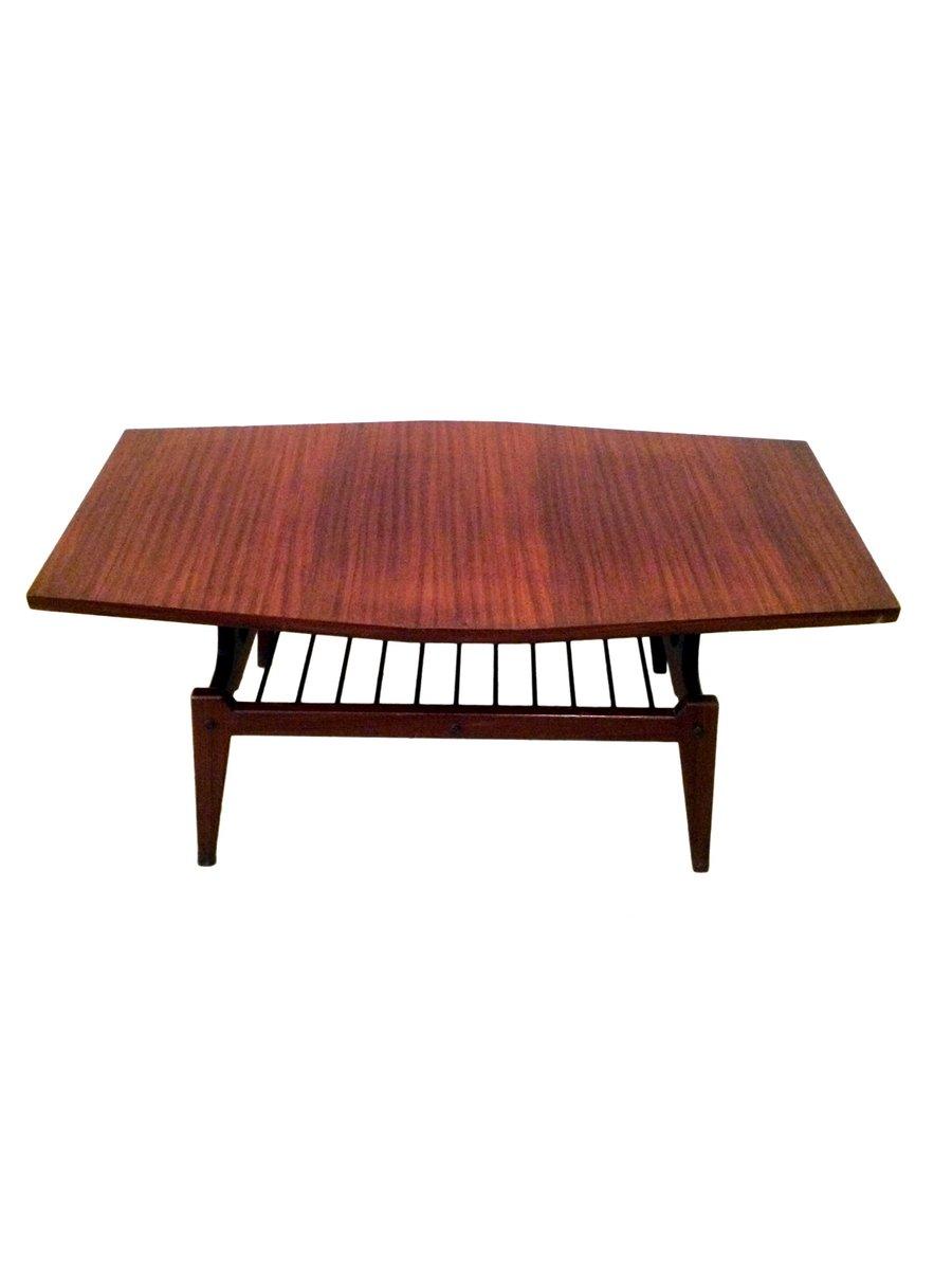 Teakholz Low Table, 1950er