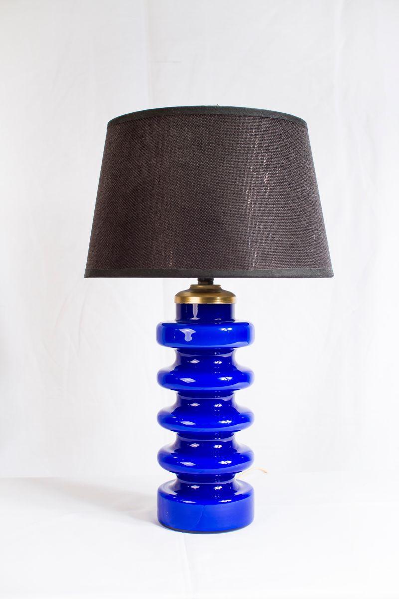 Vintage Muranoglas Tischlampe