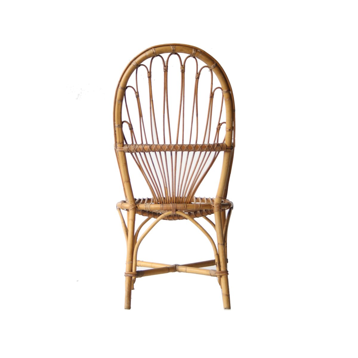 fauteuil vintage bambou france en vente sur pamono. Black Bedroom Furniture Sets. Home Design Ideas