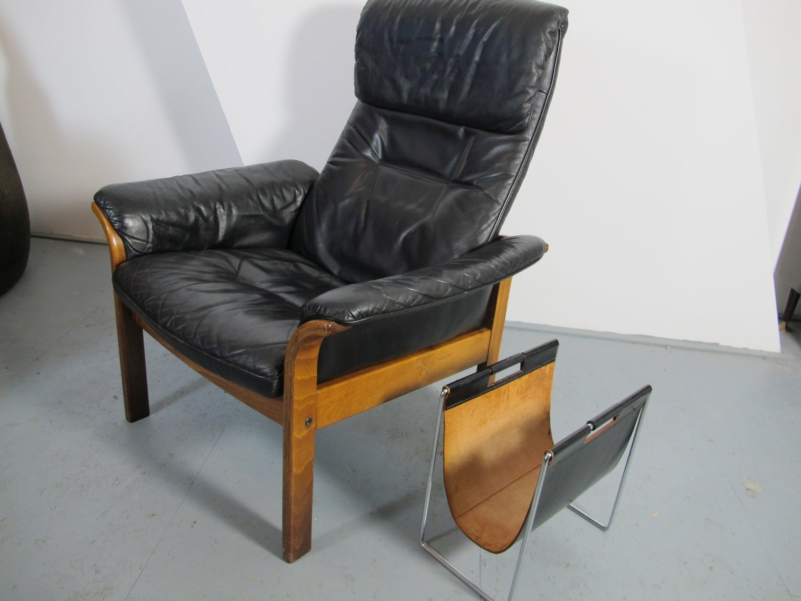 Scandinavian lounge chair from g mobel for sale at pamono for Outdoor loungemobel sale