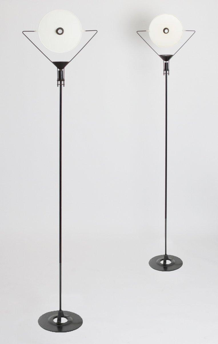 Polifemo Stehlampe von Carlo Forcolini für Artemide, 1980er, 2er Set