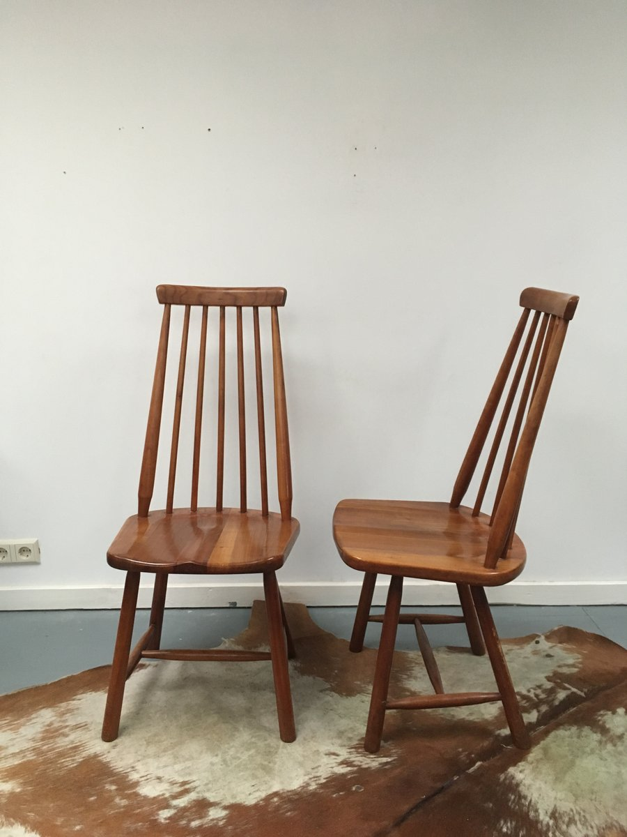 mid century dutch dining chairs set of 10 for sale at pamono. Black Bedroom Furniture Sets. Home Design Ideas