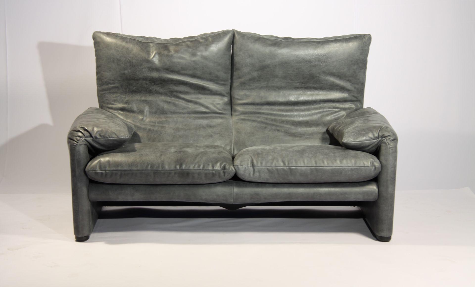 maralunga sofa von vico magistretti f r cassina 1974 bei pamono kaufen. Black Bedroom Furniture Sets. Home Design Ideas