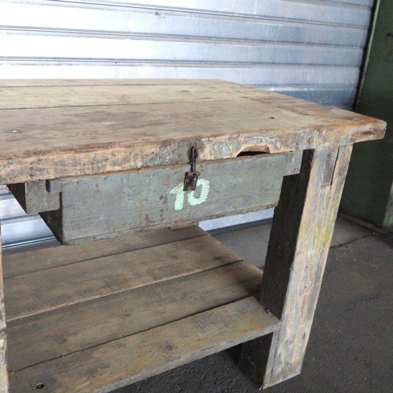 banc de travail industriel 1930s en vente sur pamono. Black Bedroom Furniture Sets. Home Design Ideas
