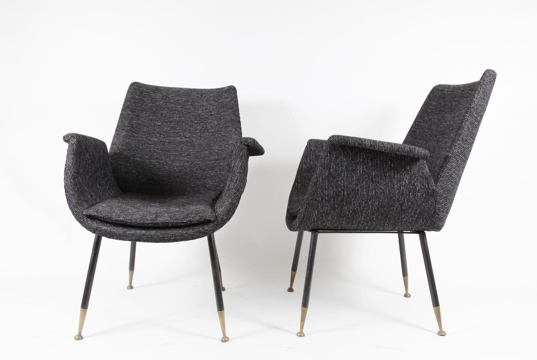 kleine sessel von gastone rinaldi f r rima 1956 2er set bei pamono kaufen. Black Bedroom Furniture Sets. Home Design Ideas