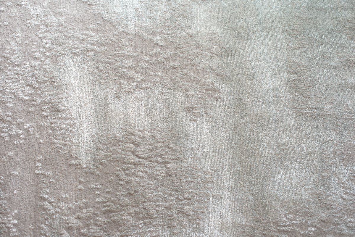 nepal teppich annapurna in silber grau von jono concepts bei pamono kaufen. Black Bedroom Furniture Sets. Home Design Ideas