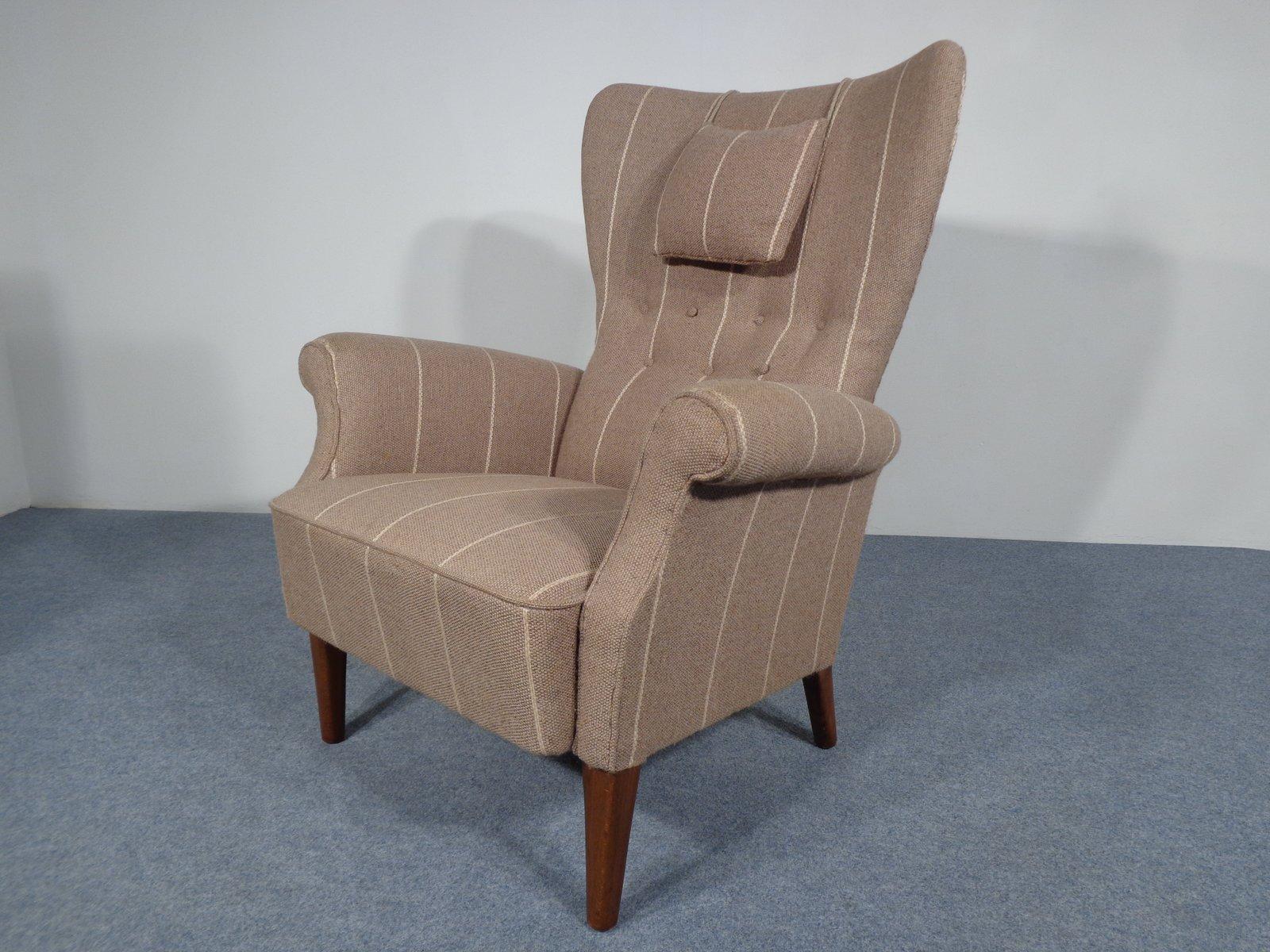 Mid-Century Sessel aus Wolle, 1950er