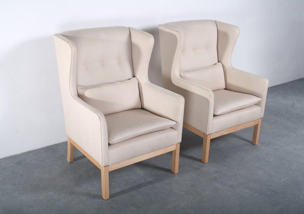 EJ25 Sessel von Erik Jorgensen für Erik Jorgensen Mobelfabrik, 2er Set
