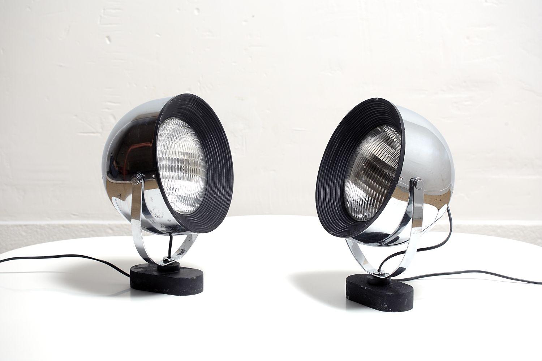 Lampen von Gae Aulenti & Livio Castiglioni für Stilnovo, 2er Set