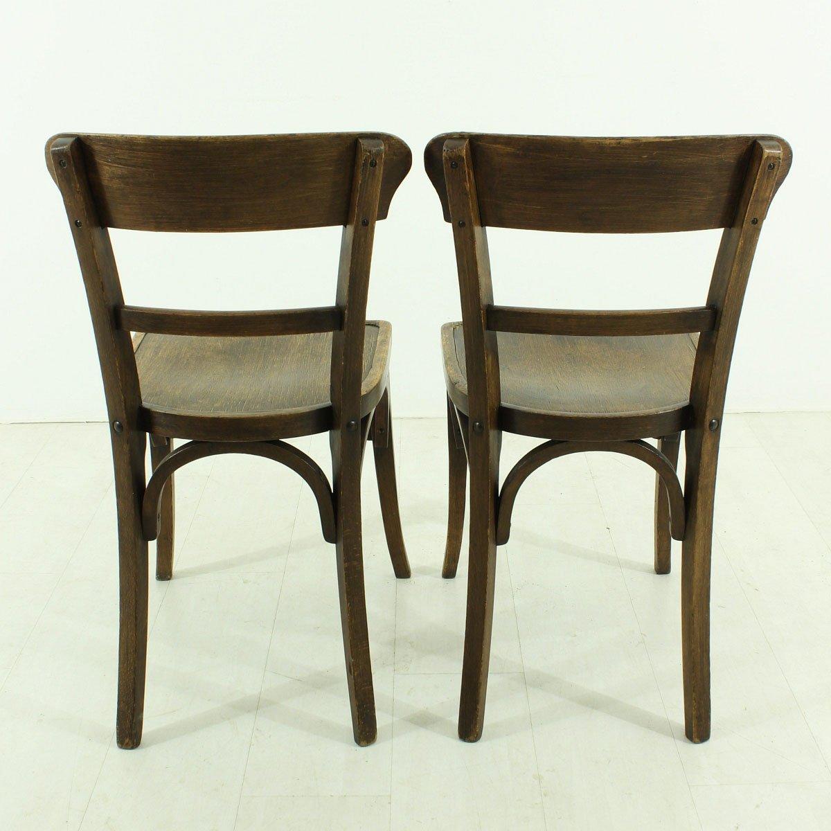 sedie da pranzo vintage anni 39 30 set di 2 in vendita su