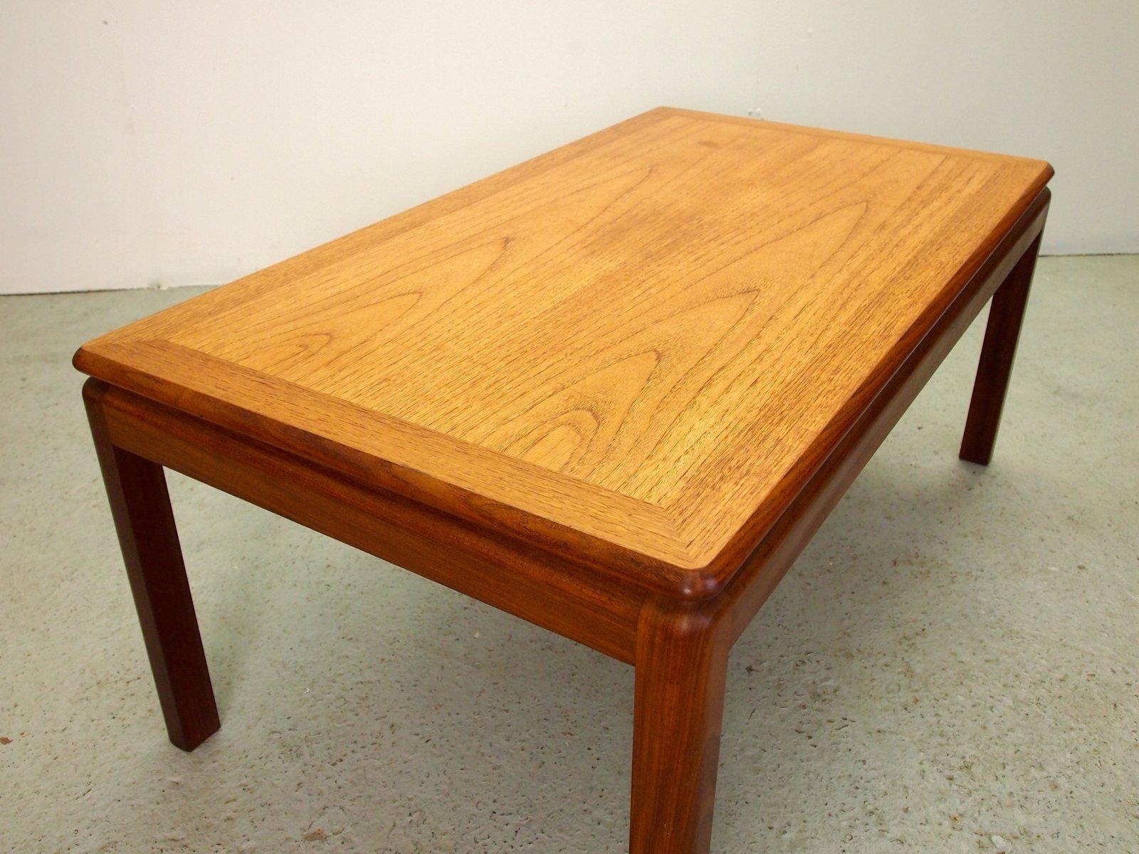 table basse mid century en bois de g plan en vente sur pamono. Black Bedroom Furniture Sets. Home Design Ideas
