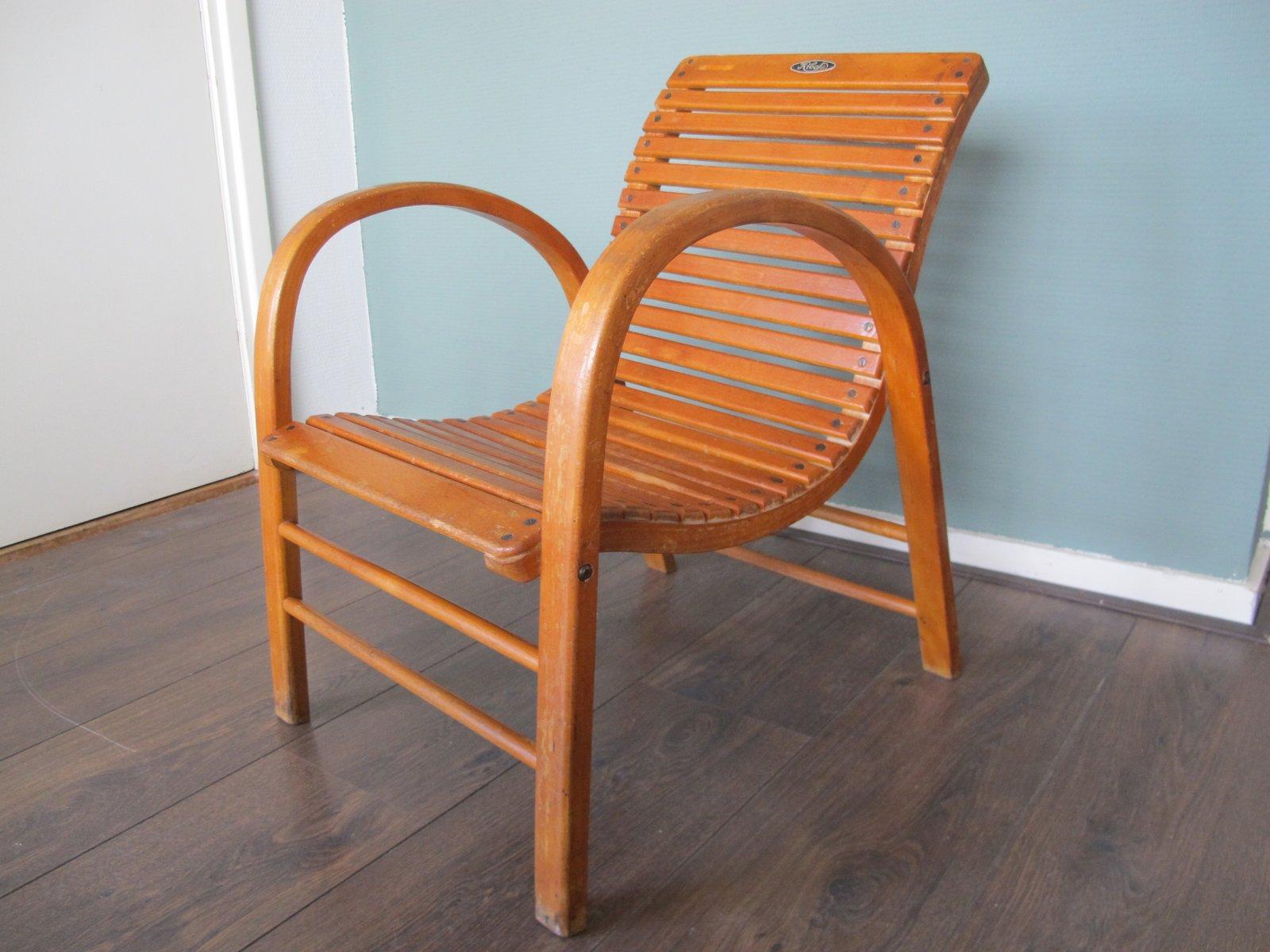 fauteuil d 39 enfant vintage de kibofa en vente sur pamono. Black Bedroom Furniture Sets. Home Design Ideas