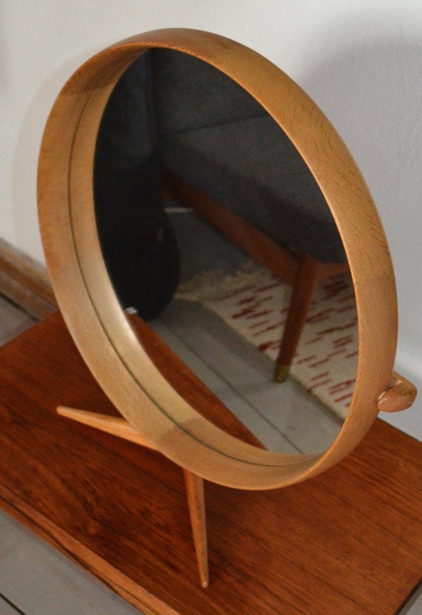 spiegel mit holzrahmen von uno osten kristiansson f r luxus 1960 bei pamono kaufen. Black Bedroom Furniture Sets. Home Design Ideas