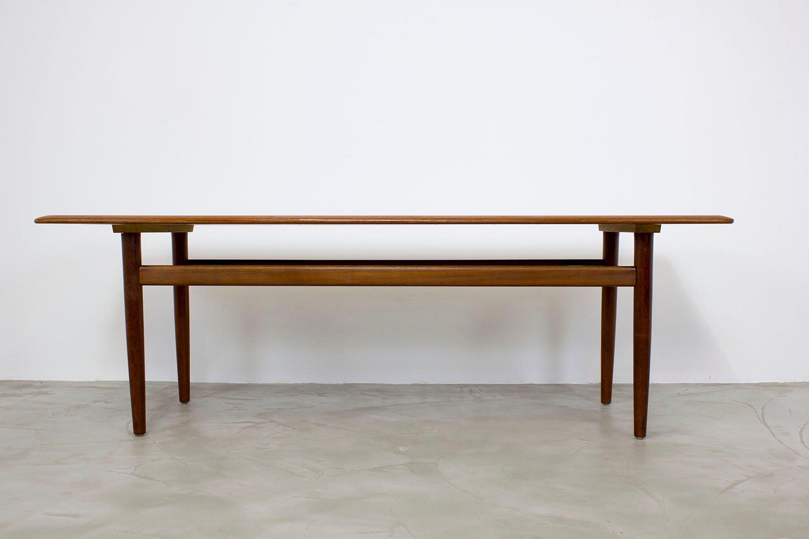 Danish Modern Teak Couchtisch, 1960er