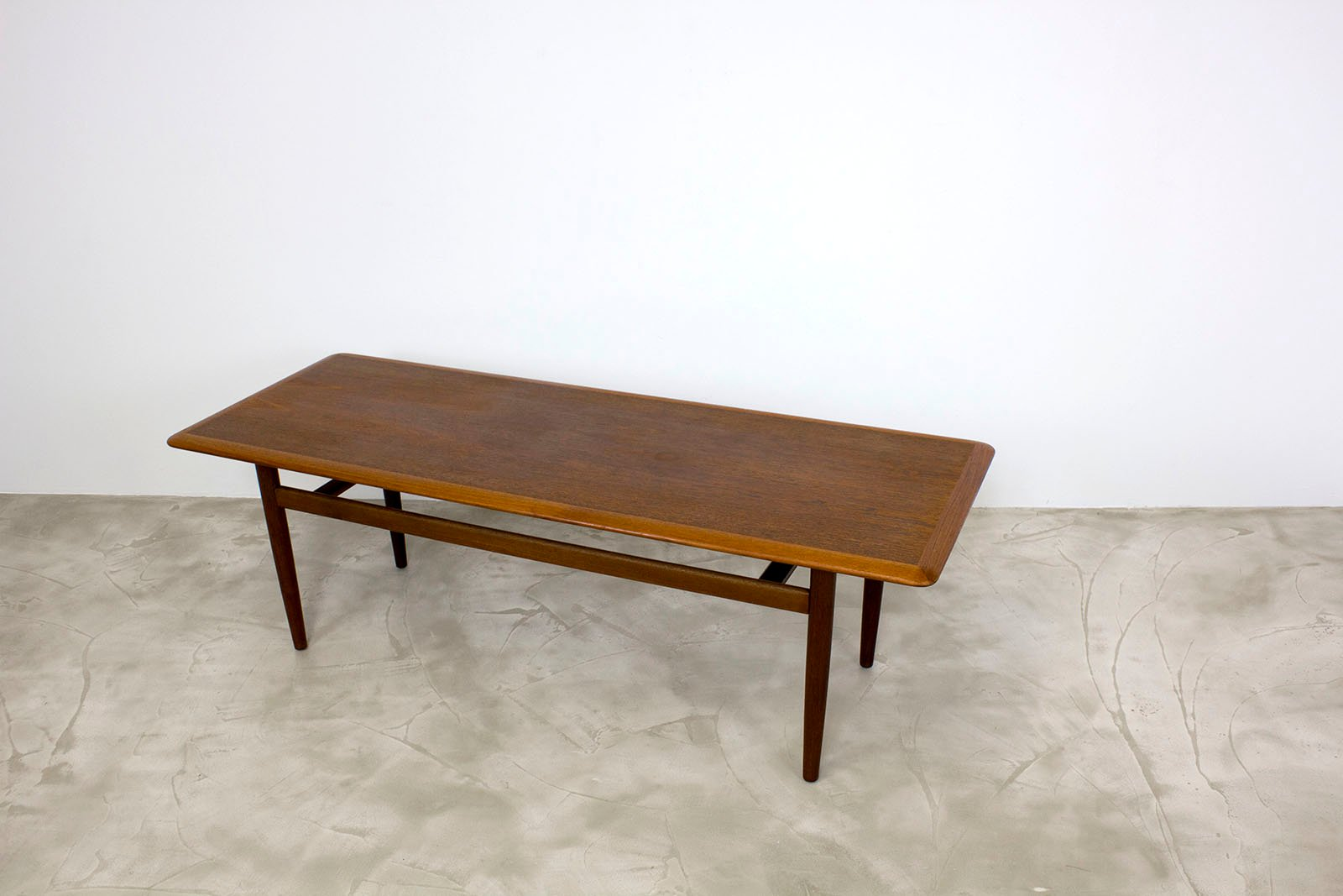 Danish Modern Teak Coffee Table, 1960s for sale at Pamono