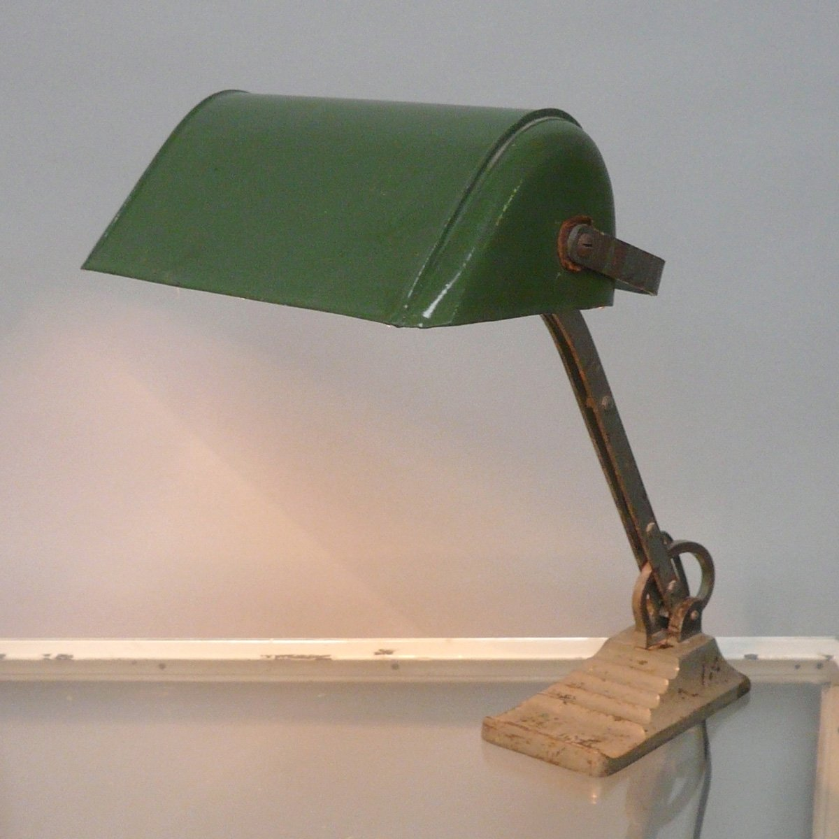 Österreichische Bank Lampe, 1930er