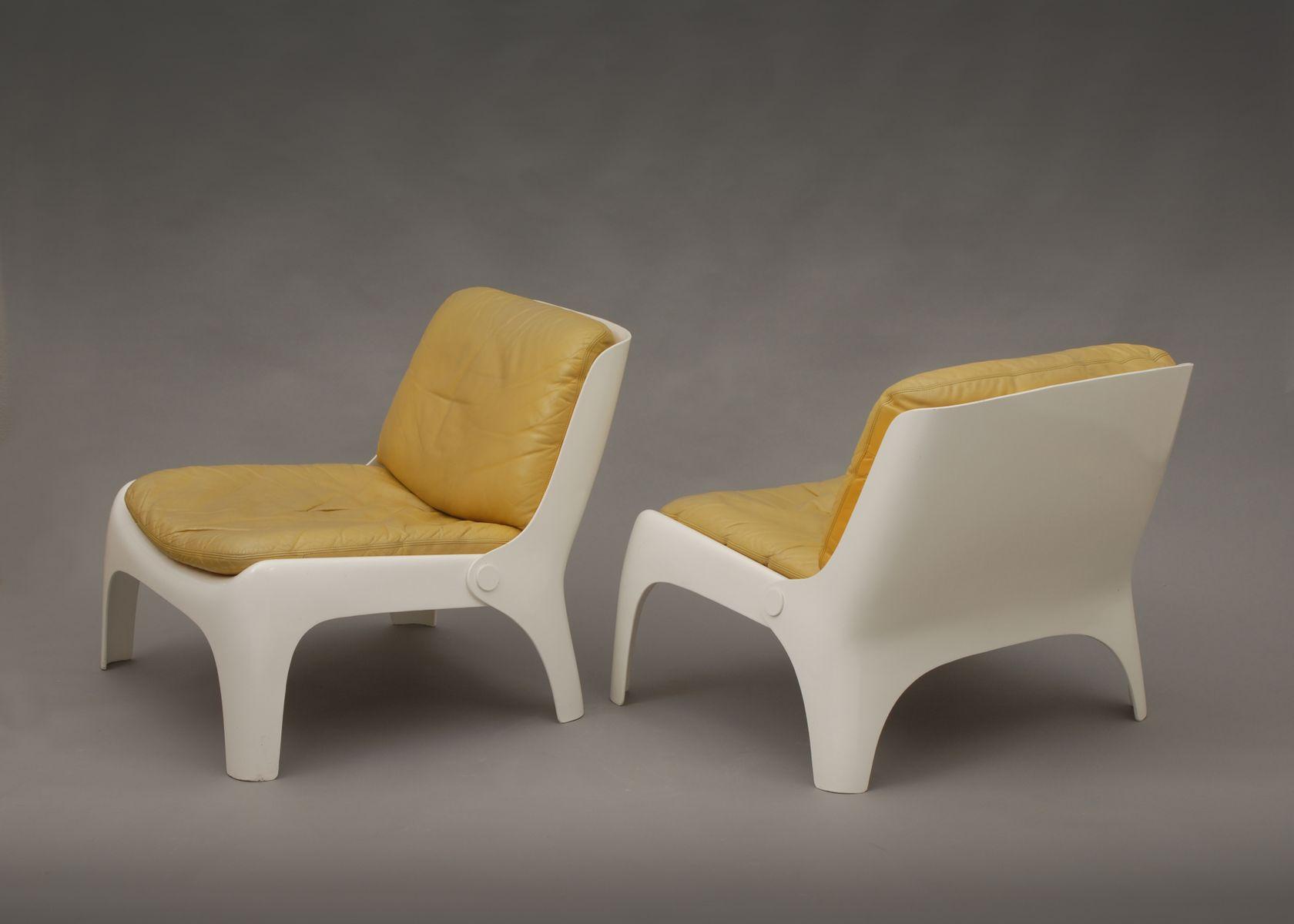 easy glasfaser st hle 1970er 4er set bei pamono kaufen. Black Bedroom Furniture Sets. Home Design Ideas