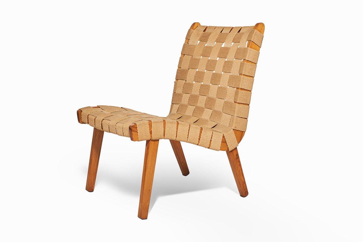 chaise en h tre et en tissu r publique tch que 1960s en vente sur pamono. Black Bedroom Furniture Sets. Home Design Ideas