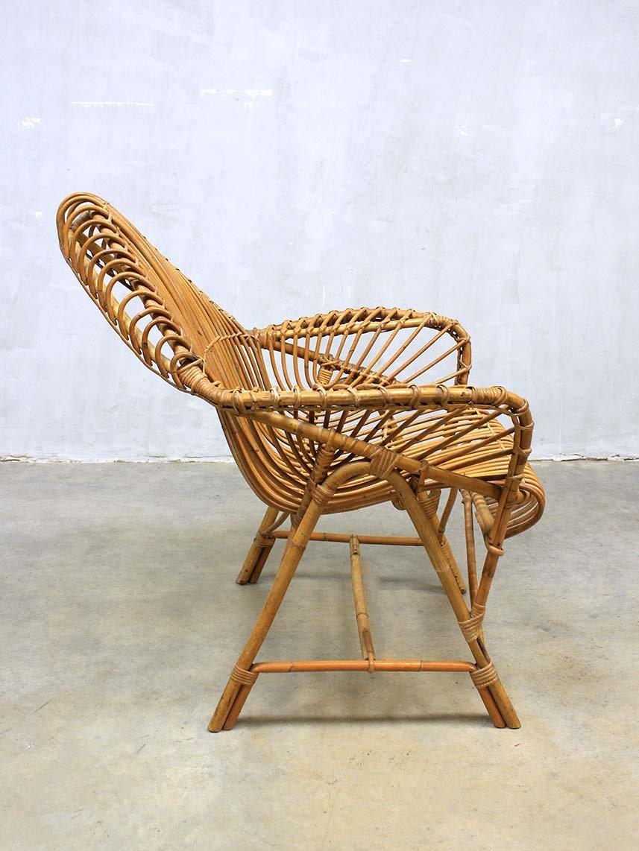 vintage rattan lounge set von janine abraham bei pamono kaufen. Black Bedroom Furniture Sets. Home Design Ideas