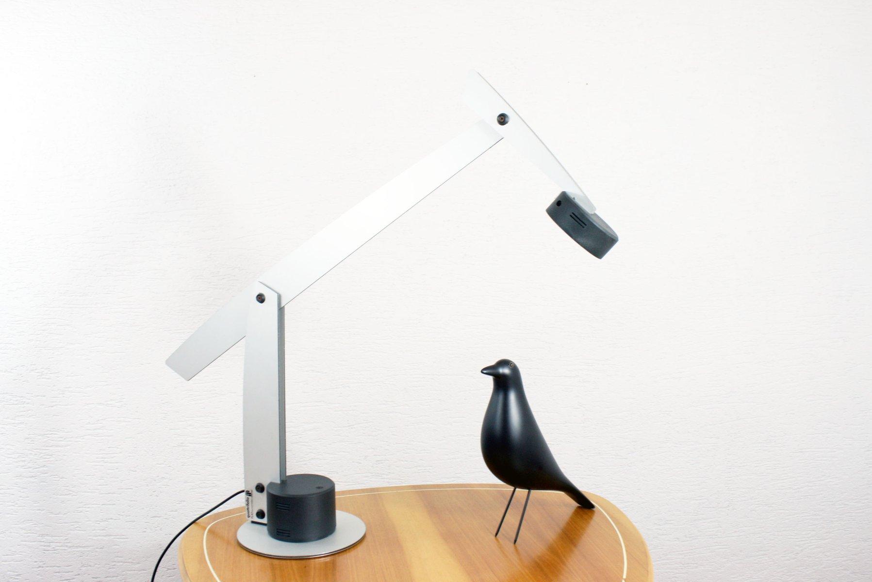 Modell Flat Tischlampe von Ewald Winkelbauer für Quattrifolio, 1995
