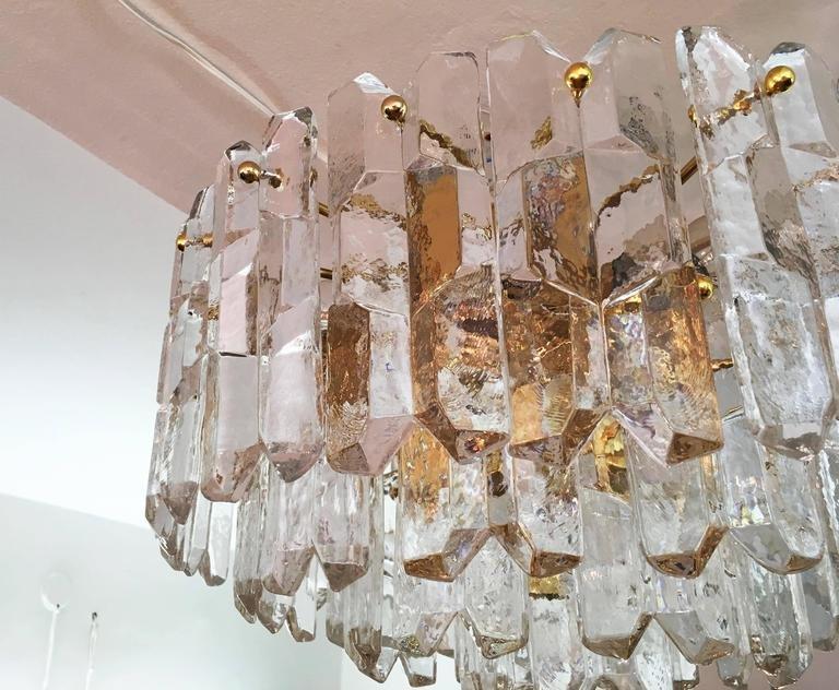 Kronleuchter Palazzo ~ Großer palazzo milchglas kronleuchter von j. t. kalmar 1970er bei