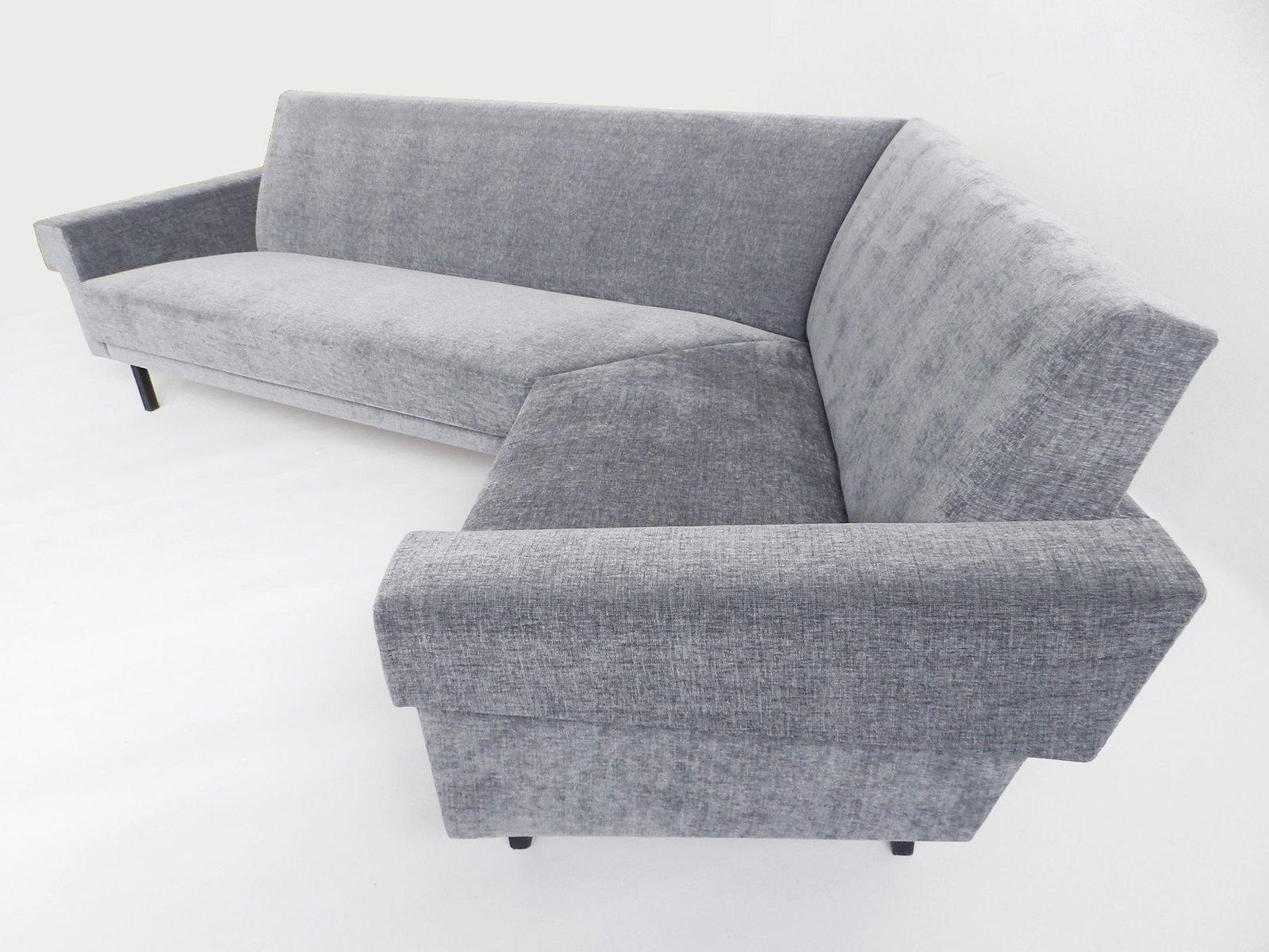 Vintage Grey Angular Sofa