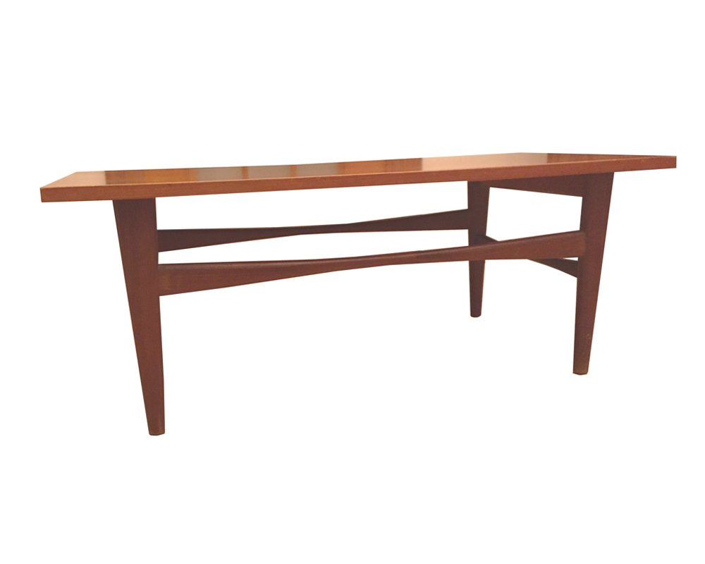 Vintage Danish Teak Coffee Table 1960s 9 1 478 00 Per Piece