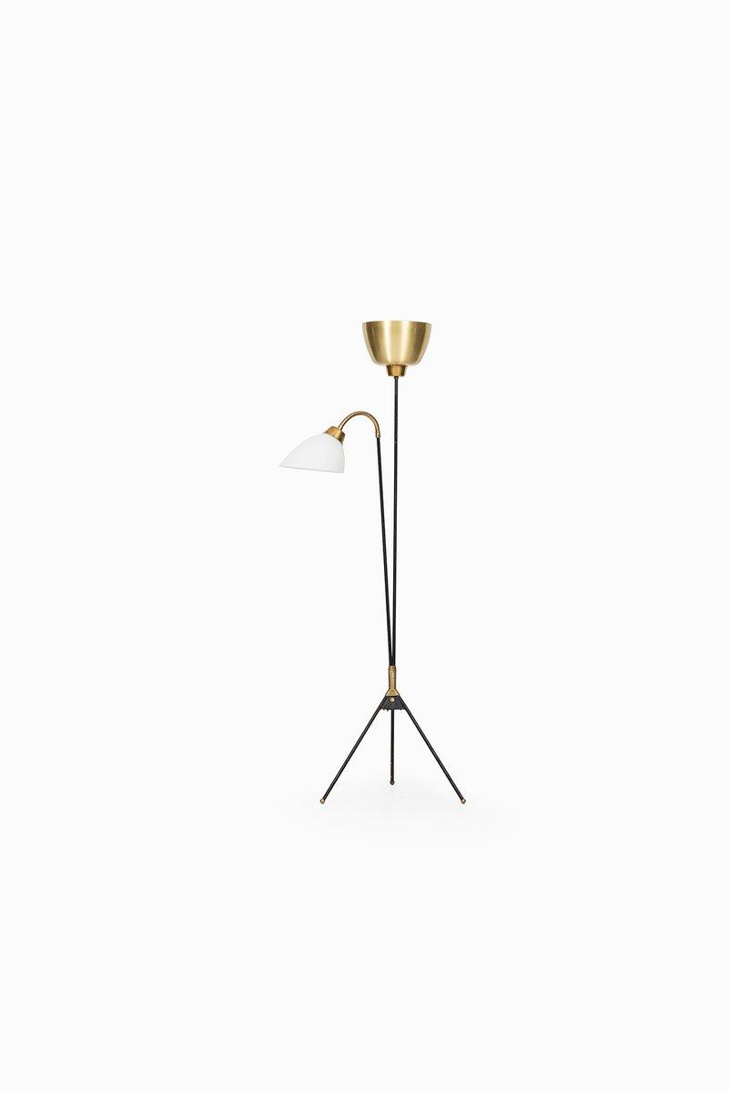 Skandinavische Mid-Century Stehlampe, 1950er