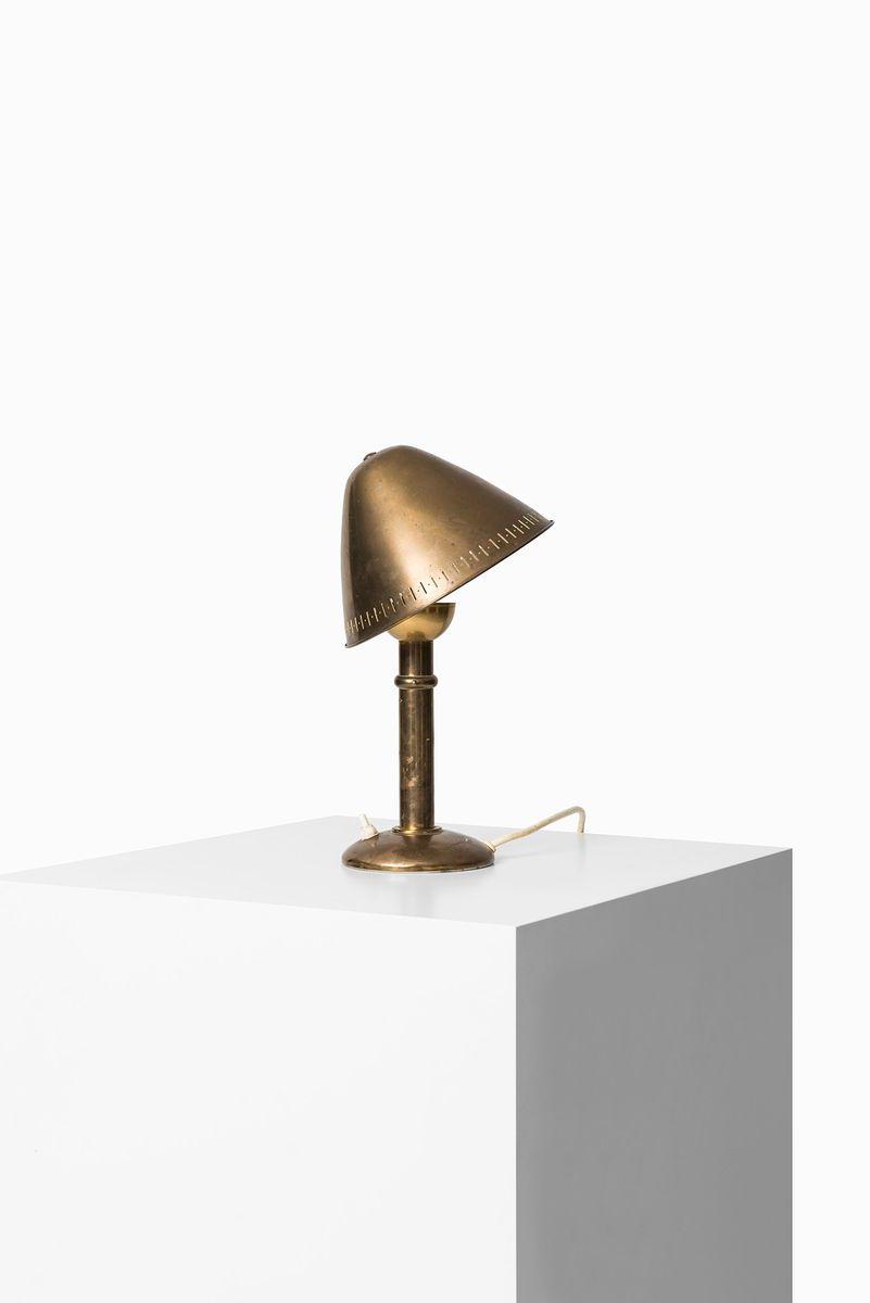 Skandinavische Vintage Tischlampe ASEA