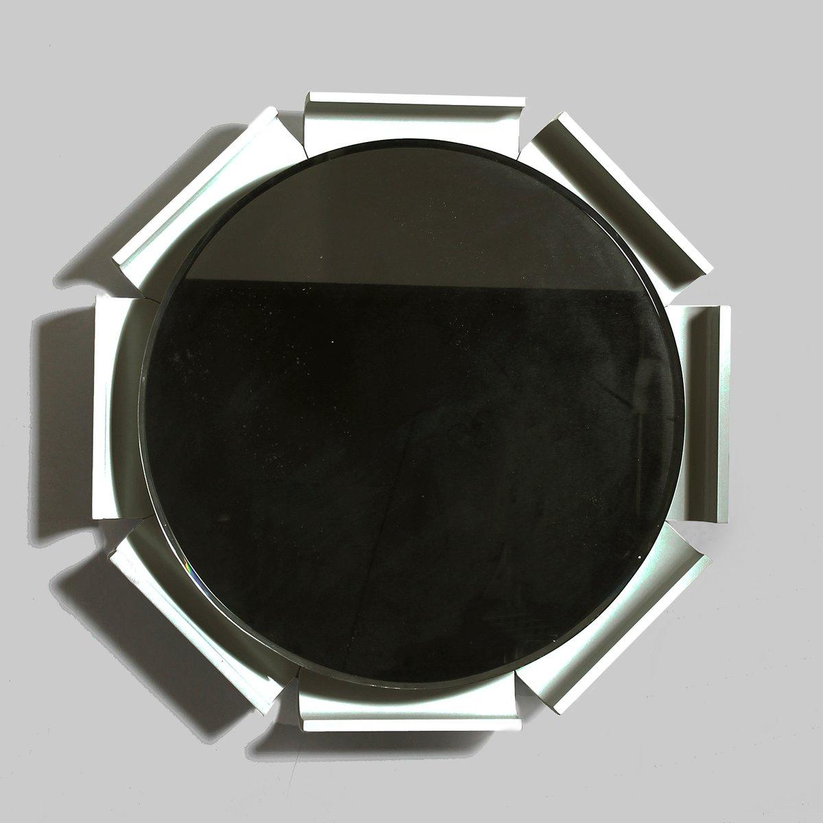 abgeschr gter hinterleuchteter italienischer spiegel 1960er bei pamono kaufen. Black Bedroom Furniture Sets. Home Design Ideas